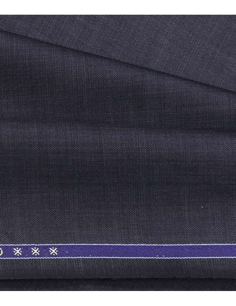 Raymond Blue Poly Viscose Unstitched Trouser Length
