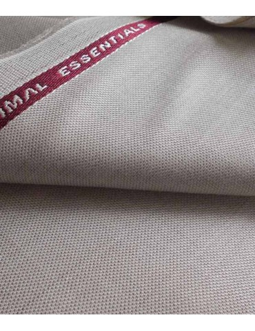 Vimal Cream Self Design Trouser Fabric